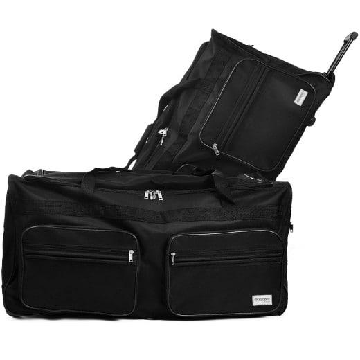 Large Black 160L Duffel Bag