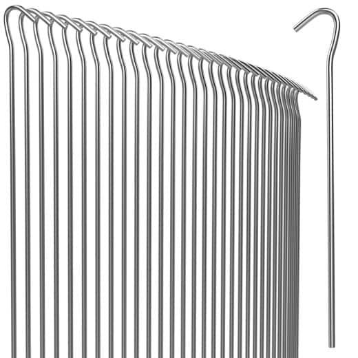 Pegs Ground Nails Ø 3.5 mm Steel Galvanised Robust Weatherproof