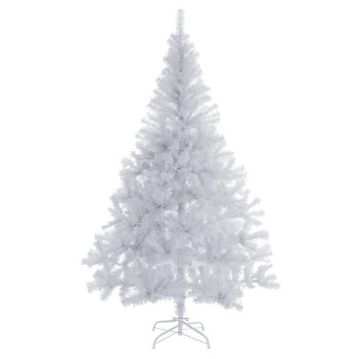 Weihnachtsbaum weiß 180cm mit Ständer + 533 Spitzen
