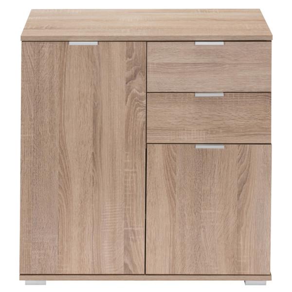 """Sideboard Cupboard """"Alba"""" Light Oak Wooden"""