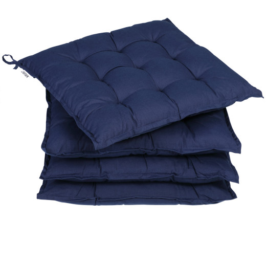 Set of 4 Cushion blue 40 cm Sydney