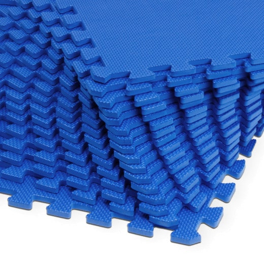 Set of 32 Floor Protection Mats Puzzle Carpet 6.48m²