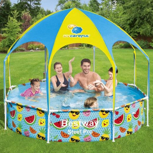 "Paddling pool ""Splash-in-Shade"" à~ 244 cm"